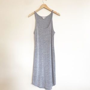 Aritzia Wilfred Free Gray Midi Dress Size Medium